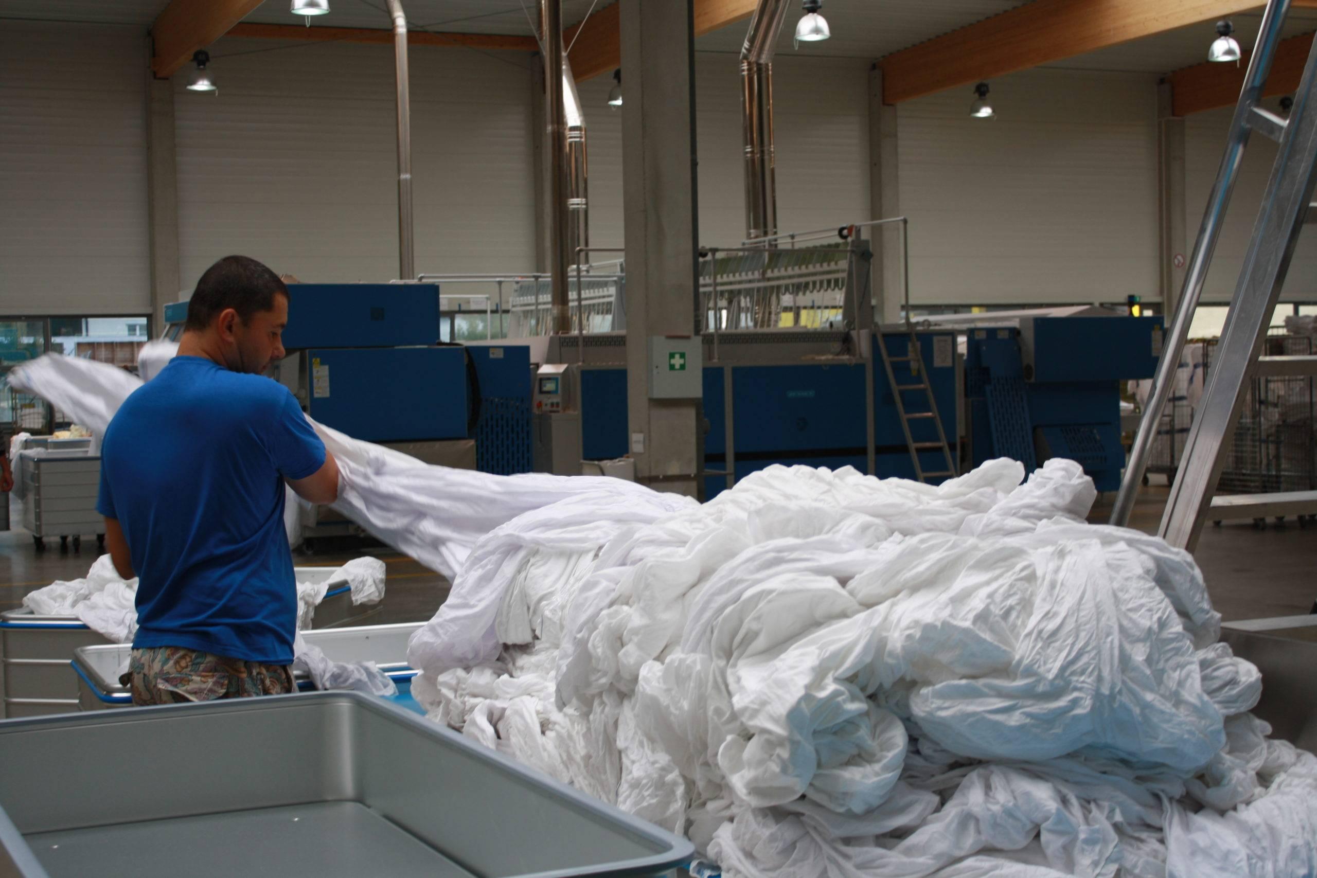 Textilreinigungsbetrieb